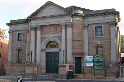 Baptist Tabernacle in Elizabeth St., Hobart